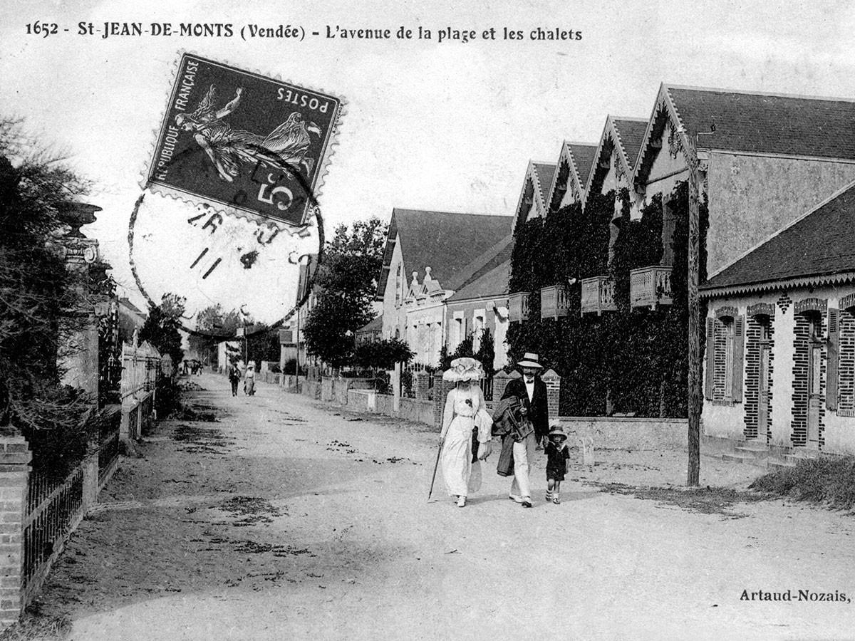 Dans les rues de Saint-Jean-de-Monts