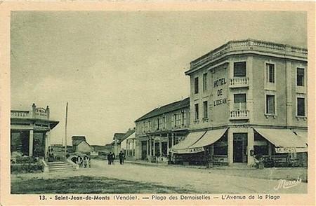 Histoire de Saint-Jean-de-Monts - Plage des Demoiselles
