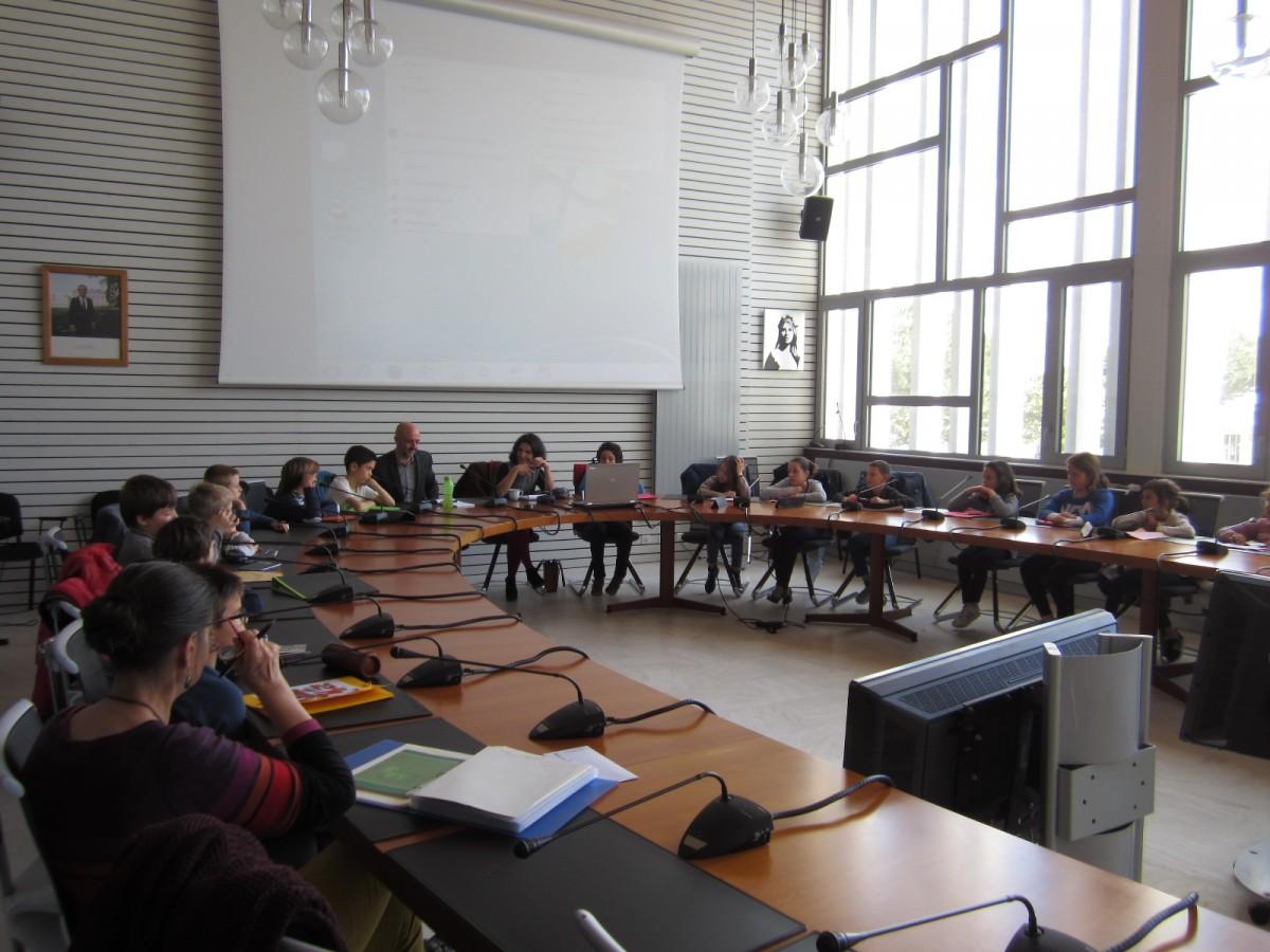 Le Conseil municipal des enfants - Saint-Jean-de-Monts