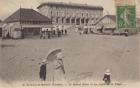 Premiers touristes à Saint-Jean-de-Monts