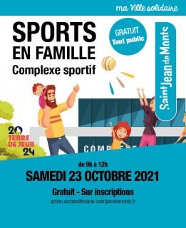Sports en famille - 23 octobre 2021