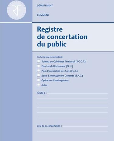 PLU REGISTRE DE CONCERTATION