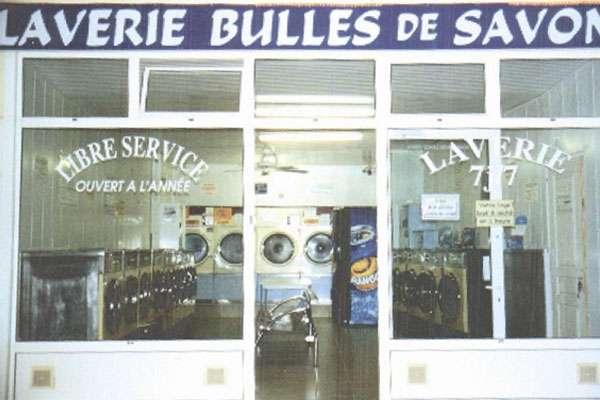 Laverie Bulles de savon