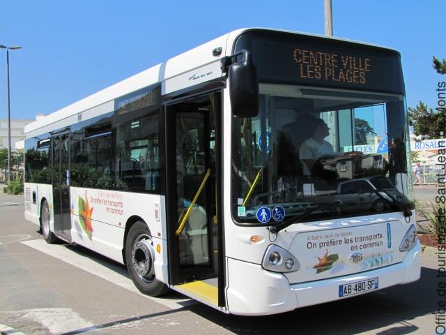 le bus urbain de Saint-Jean-de-Monts