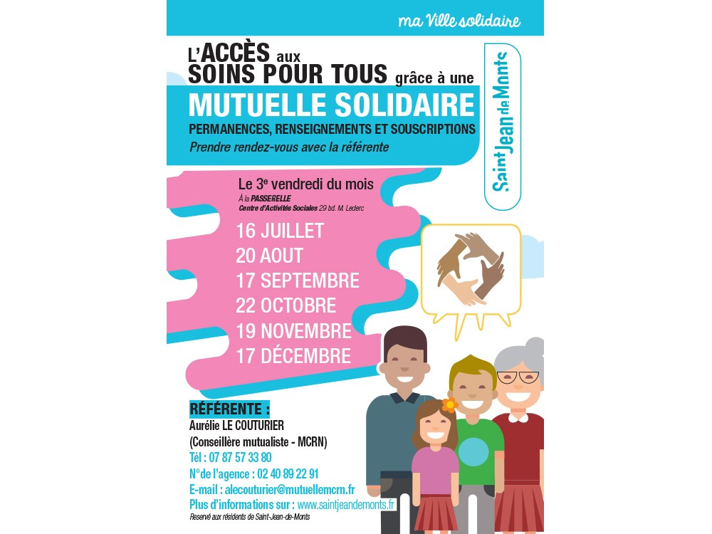 Permanences Mutuelle solidaire