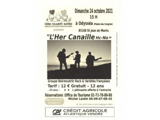 Concert gourmand - L'Her Canaille Hc-No
