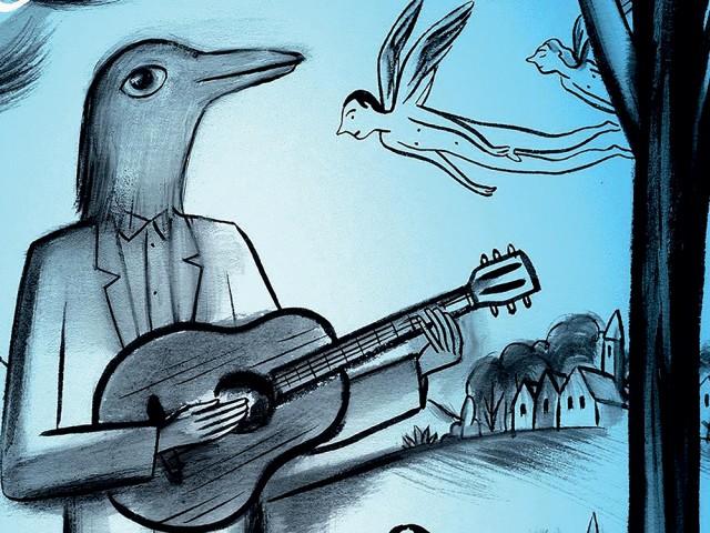 Concert-dessiné - Bastien Lallemant & Charles Berberian