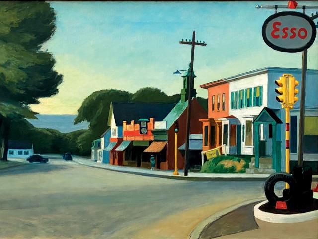 Petite envie d'un bol d'art - A la manière d'Edward Hopper