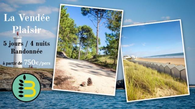 Séjour randonnée - La Vendée Plaisir